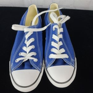 Converse Chuck Taylor All Star Blue Low To…